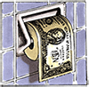 Money as toilet paper
