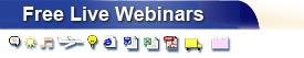 Free Live Webinars