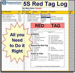 5S Checklist - 5S Tools for Lean 5S
