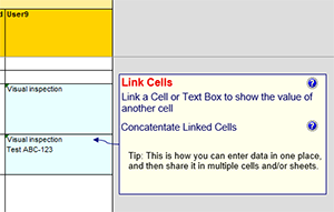 FMEA link cells