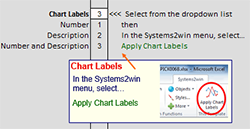 Decision Matrix Chart Labels Menu