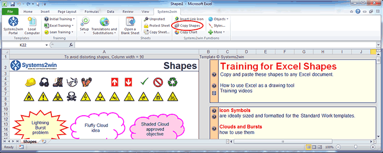 Excel Shapes - How to use Excel as a drawing tool