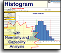 Histogram Excel chart