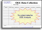 OEE Data Collection form